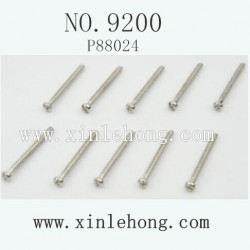 PXTOYS 9200 Car parts 2.6X30PB Round Head Screw P88024