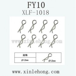 FEIYUE FY-10 Car parts R-Shape Lock Catch XLF-1018