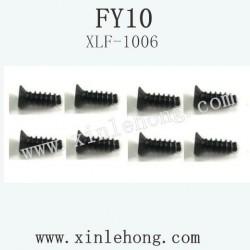feiyue fy-10 car parts Screw 2.6×8KB XLF-1006