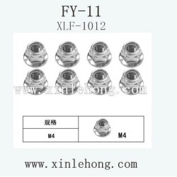 feiyue fy-11 car parts Flange Locknut XLF-1012
