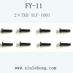 feiyue fy-11 car parts Screw 2×7KB XLF-1001
