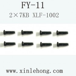 FEIYUE FY-11 CAR PARTS Screw 2×8PB XLF-1002