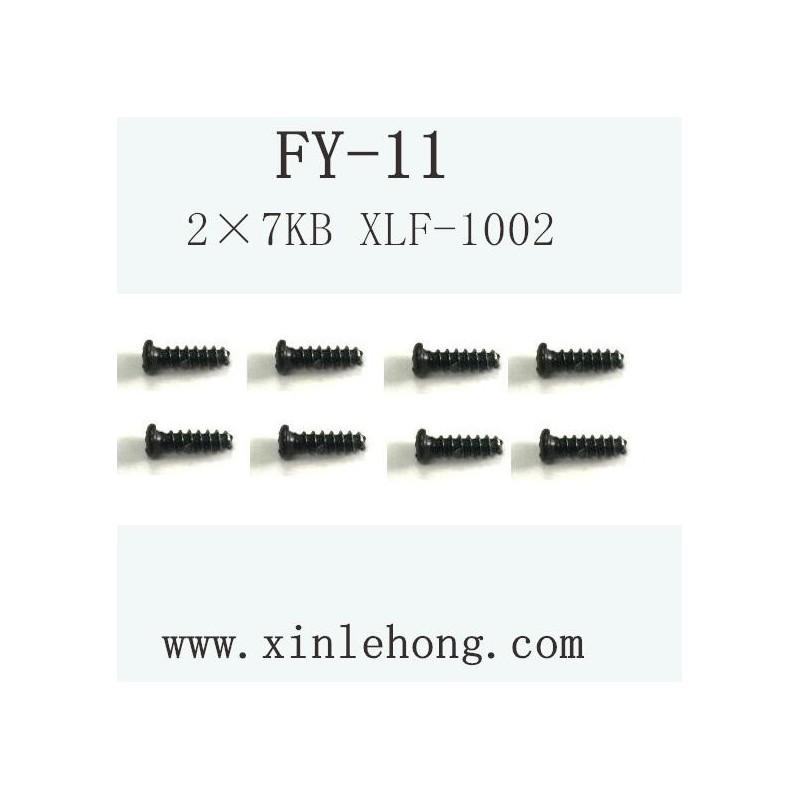 FEIYUE FY-11 CAR PARTS Screw 2×8PB XLF-1002