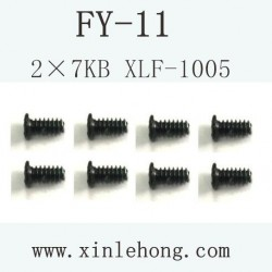 feiyue fy-11 car parts Screw 2.5×6PB XLF-1005