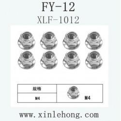 FEIYUE FY-12 car parts Flange Locknut XLF-1012