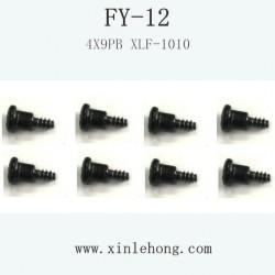 feiyue fy-12 car parts Step Screw 4X9PB XLF-1010