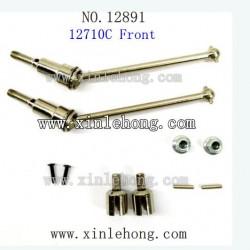 hbx 12891 car parts Front Upgrade Metal Drive Shafts 12710C
