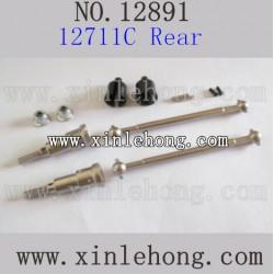 HBX 12891 Car parts Upgrade Metal Drive Shafts Rear