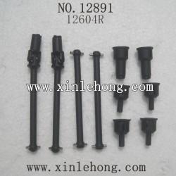 HBX 12891 Car parts Dog Bone Drive Shaft+Dogbone Cups 12604R