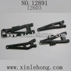 HBX 12891 Suspension Arms 12603 ONE set