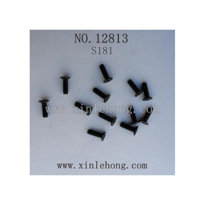 HBX 12813 Car parts Countersunk Screw S181