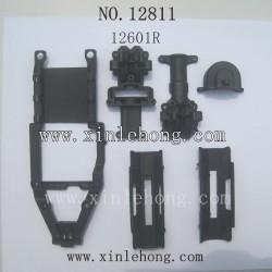 HBX 12811 12811B Car parts Gear Box Battery Cover 12601R
