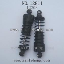 HBX 12811 12811B RC Car parts front shock