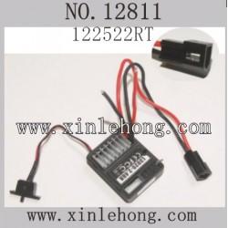 HBX 12811B Car parts ESC Receiver 12522RT
