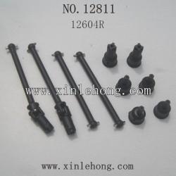 HAIBOXING 12811B Car parts  Dog Bone Drive Shaft+Dogbone Cups 12604R