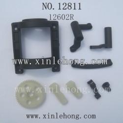 haiboxing 12811b car parts Spur gear Motor Guard+Steering Bushings