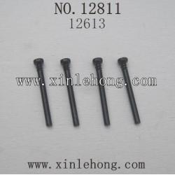 HBX 12811B Car parts Front Upper Suspension Hinge Pins 12613