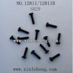 HBX 12811B Car parts Round Head Self Tapping Screw