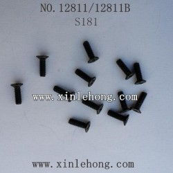 HBX 12811B Car parts Countersunk Screw S181