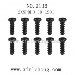XINLEHONG Toys 9136 Parts-Round Headed Screw 30-LS01