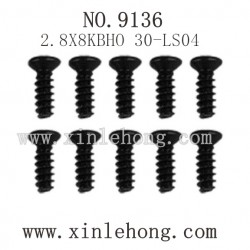 XINLEHONG Toys 9136 Parts-Countersunk Head Screw 30-LS04