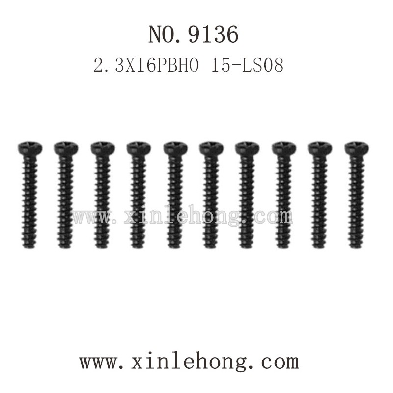 XINLEHONG Toys 9136 Parts-Round Headed Screw 15-LS08