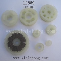 HBX 12889 Thruster Car Parts-Gears Assembly