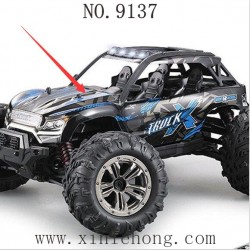 XINLHEONG Toys 9137 Truck Parts-Car Body Shell Blue 30-SJ02