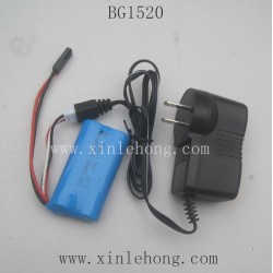 SUBOTECH BG1520 RC Car Parts Battery and Charger