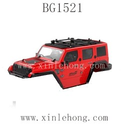 SUBOTECH BG1521 Parts-Car Shell Red