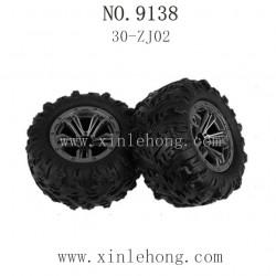 XINLEHONG TOYS 9138 Parts-Tires