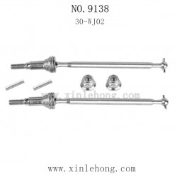 XINLEHONG TOYS 9138 Parts-Front Drive Shaft Set