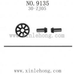 XINLEHONG Toys 9135 Parts, Main Drive Shaft Assembly