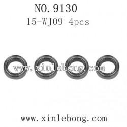XINLEHONG TOYS 9130 car Bearing 6.3x9.5x3mm 15-WJ09 4pcs