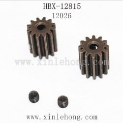 HBX 12815 Parts-Motor Pinion Gear 13T+Machine Screws