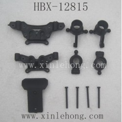 HBX 12815 Protector  Parts-Steering Hubs+Shock Towers