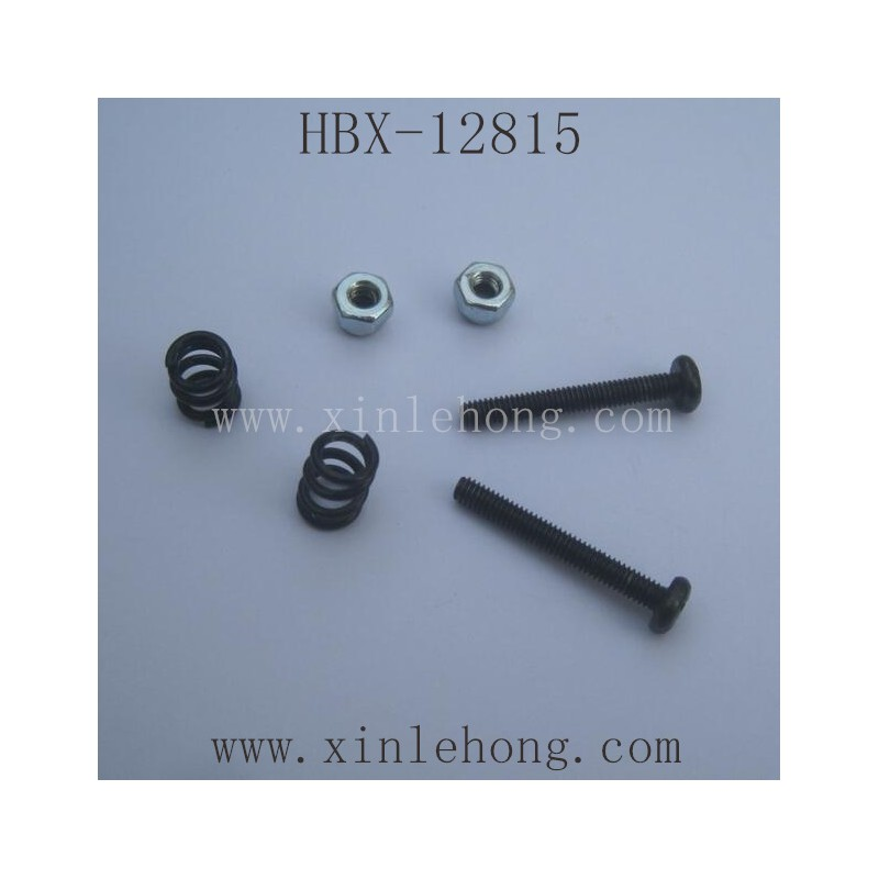 HBX 12815 Parts-Buffer Springs+Lock Nuts