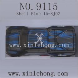 XINLEHONG 9115 Car Shell Blue 15-SJ02