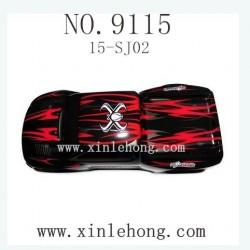 XINLEHONG Toys 9115 CAR-Car Shell black 15-SJ02