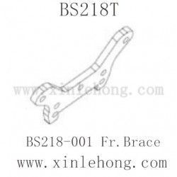 BSD Racing BS218T Dune Racer Parts-BS218-001 Fr.Brace
