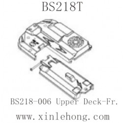 BSD Racing BS218T Parts-BS218-006 Upper Deck-Fr.
