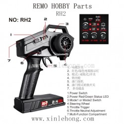 REMO HOBBY Parts-RH2 Remote Controller