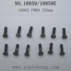 HBX 18859E Rampage Parts-Pan Head Self Tapping Screw 18062 PMHO