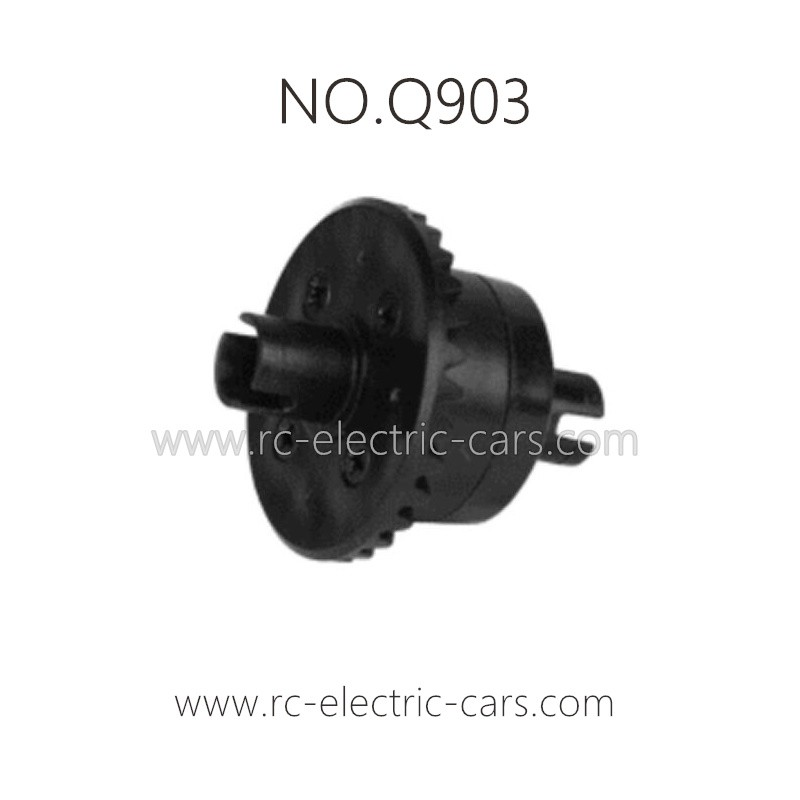 Premium RC Car Differential Differential Complete Parts for Xinlehong Q903