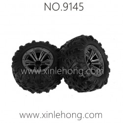 XINLEHONG TOYS 9145 Parts-Wheels Complete