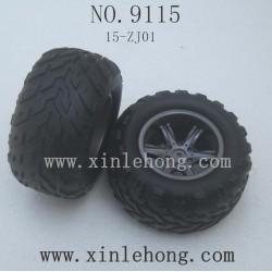 XINLEHONG Toys 9115 PARTS Tire 15-ZJ01