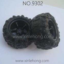 PXTOYS 9302 Speed Pioneer Parts-Tires set