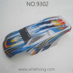 PXTOYS 9302 Speed Pioneer Parts-Body Shell Blue