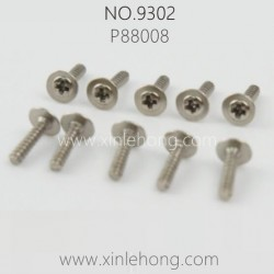 PXTOYS 9302 Speed Pioneer Parts-Screw P88008