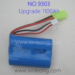 PXTOYS 9303 Desert Journey Upgrade Parts-1100mAh-Battery